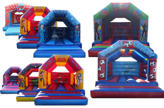 Simulator and Bouncy Castle Half Price